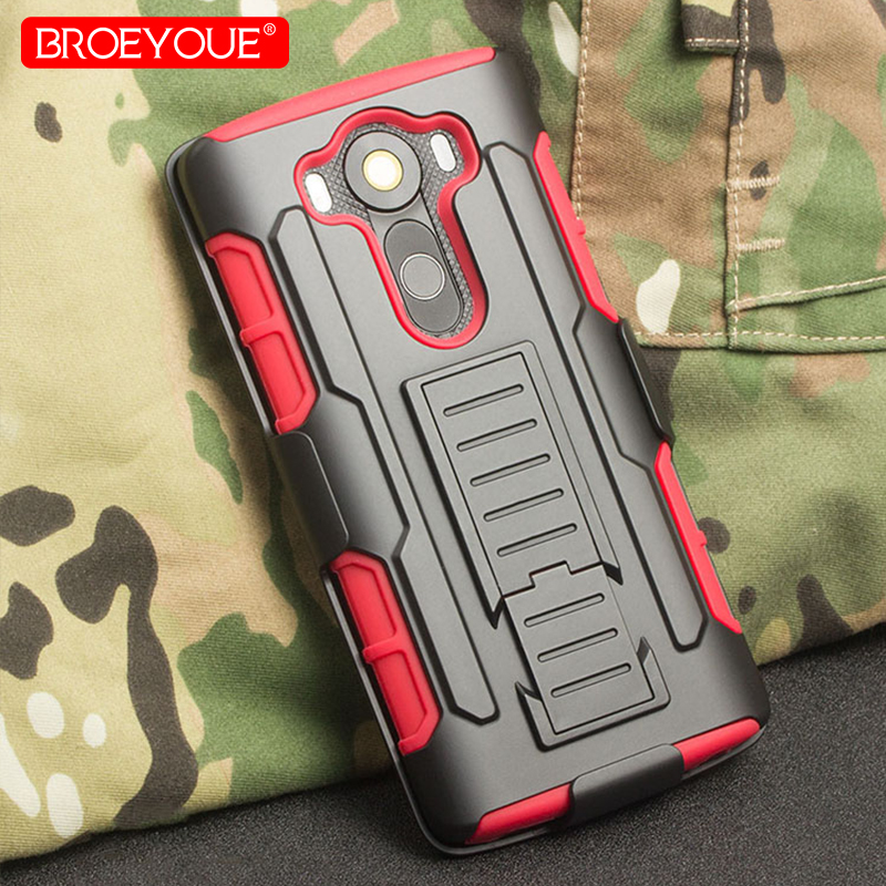 BROEYOUE Armor Case For Motorola Nexus 6 Cover For LG G2 G3 Mini G4 G5 Stylus C40 C70 V10 Vista 2 Holster Hard Phone Cases Capa image