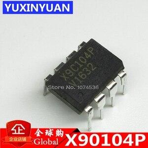 X9C104P X9C104 9C104 вертикальный DIP8 100% хороший цифровой чип потенциометра 10 шт./лот