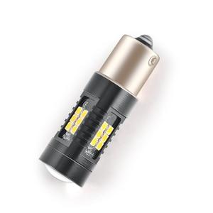 Image 3 - Автомобильный светодиодный светильник, 2 шт., 1156 P21W BA15S PY21W BAU15S Canbus, 1200 лм, поворотный сигнал, задний фонарь 3030SMD, Прямая поставка, 12 В, для Volvo