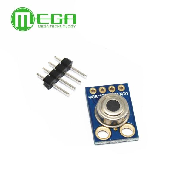 10pcs  GY 906 MLX90614ESF New MLX90614 Contactless Temperature Sensor Module