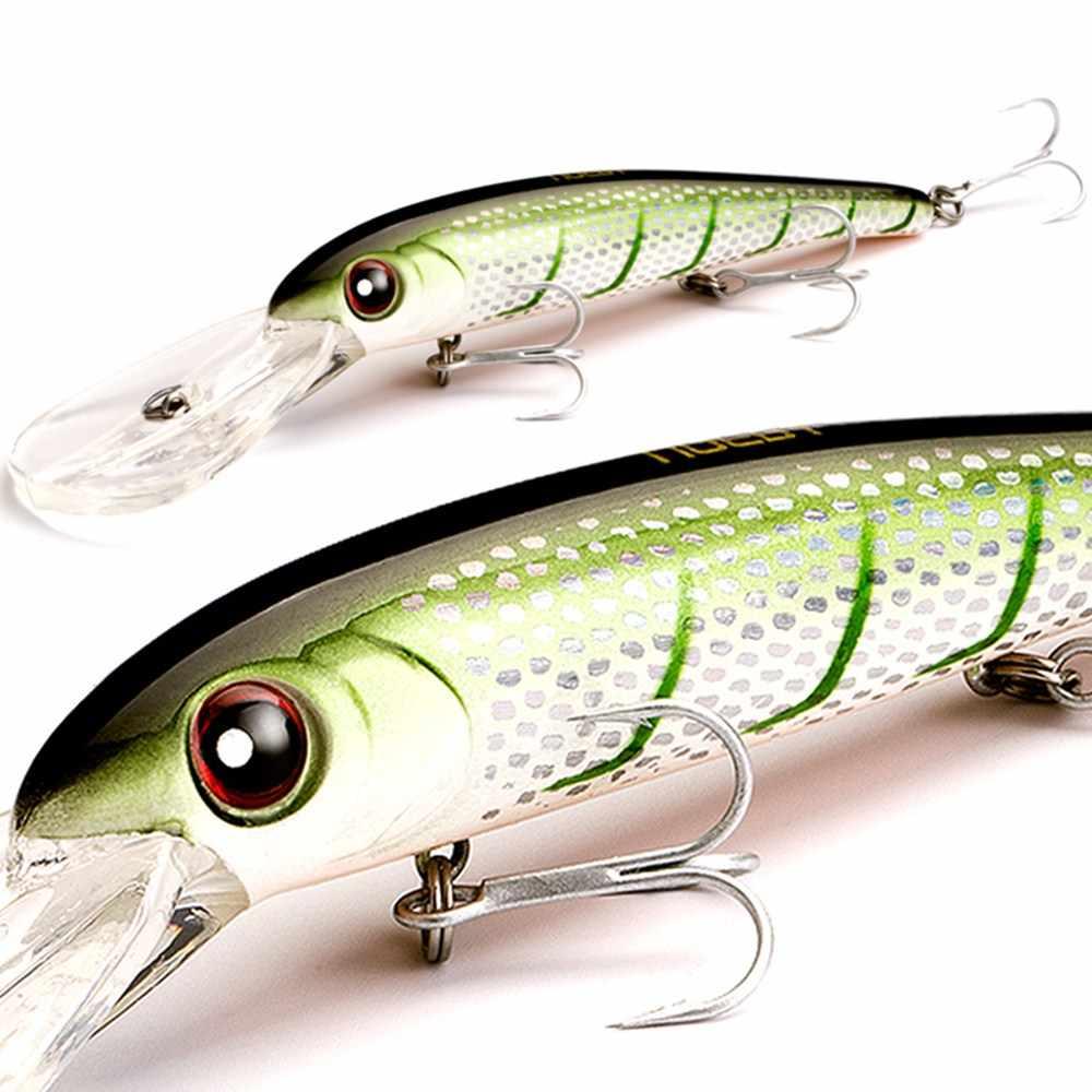 NOEBY 12cm 20.3g דגיג דיג פיתוי צף 3.0-4.5m פלסטיק דיג פיתוי Leurre פש Artículos דה pesca Wobblers להתמודד