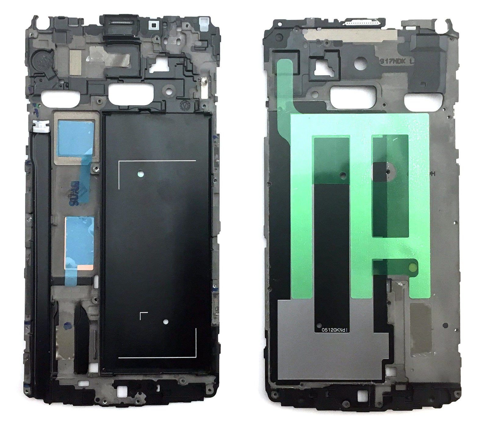 Sinbeda New LCD For Samsung Galaxy Note 4 Note4 N910A/T N910F N910V Front Frame Bezel Front Housing Repair Parts Black Or White