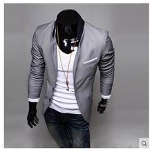 Горячее предложение! Распродажа! осенний мужской блейзер, модный приталенный повседневный блейзер для мужчин, брендовый мужской костюм, дизайнерская куртка, верхняя одежда для мужчин M~ XXL