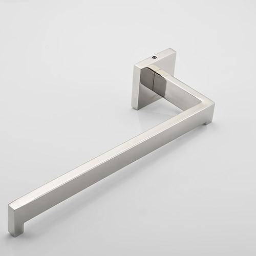 10 inch Length Bathroom Stainless Steel Square Towel Rail Bar Towel Racks 01-028
