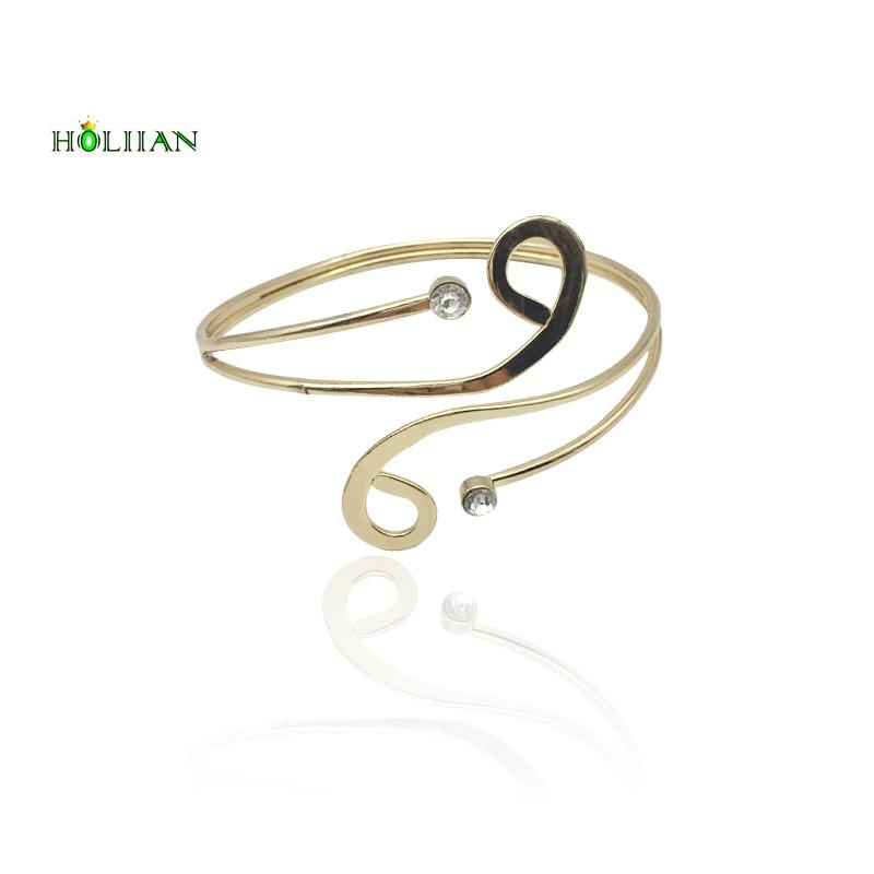 2017 new carter love bracelet&bangles punk upper arm bracelet cuff rose Gold-color hiphop spiral beach armlet women mujer bijoux