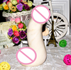 Big Yoni Wand Natural White Jade Dildo Stone Realistic Huge Massage Wand Sex Toys For Woman