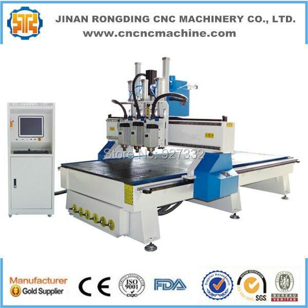 Cabezas múltiples para máquina de carpintería cnc de 4 ejes de - Maquinaría para carpintería - foto 2
