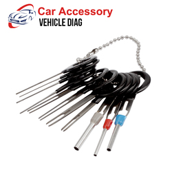 Car Plug Circuit Board Wire Harness Terminal Extraction Pick Connector Crimp Pin Back Needle Remove Tool Set