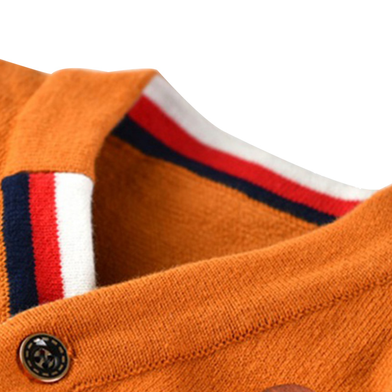 Warme jongens-truien Lange mouw Pasgeboren sweaters met Aap-gebreide - Babykleding - Foto 6