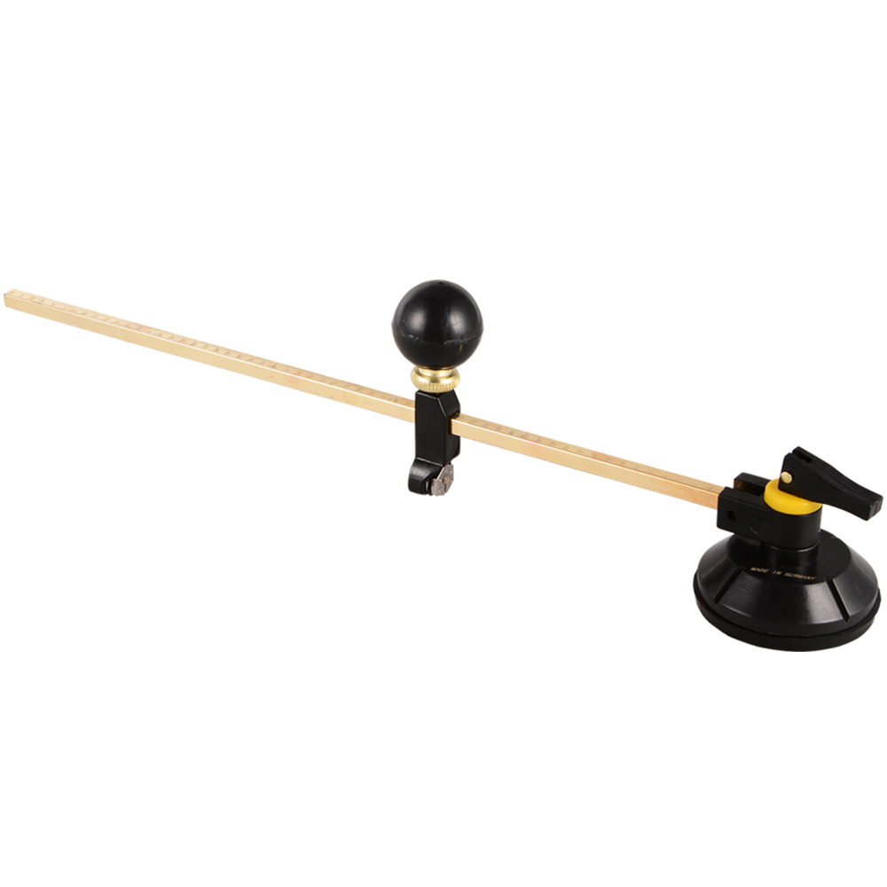 400mm Length Adjustable Compasses Type Circle Circular Glass Cutter Cutting Suction Cup Tools Window HT346