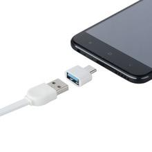10PCS Typ-C zu USB Adapter OTG Konverter USB 3.0 zu Typ C USB-C Port Adapter Lade Sync für samsung S8 Huawei Mate9