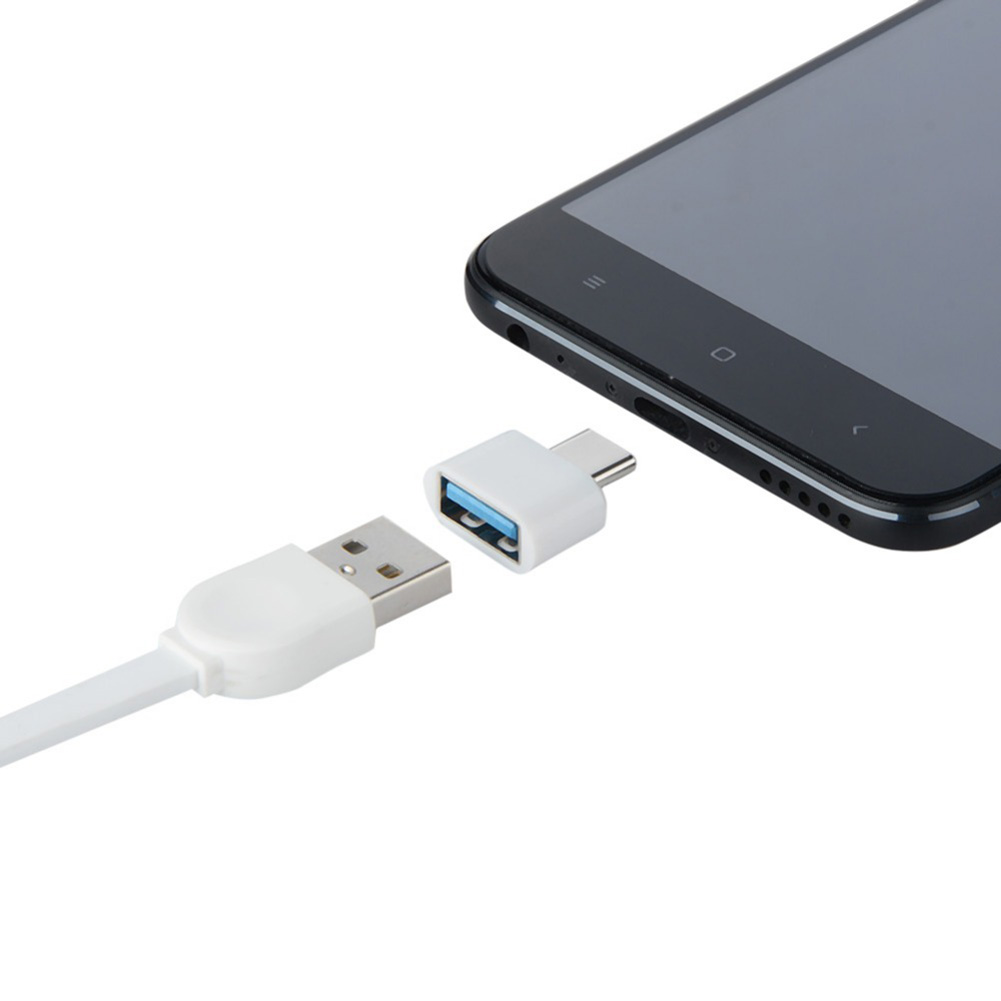10PCS Type-C to USB Adapter OTG Converter USB 3.0 to Type C USB-C Port Adapter Charging Sync for Samsung S8 Huawei Mate9
