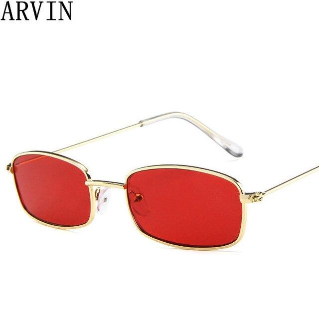 Aliexpress.com : Buy Women Metal Sunglasses Men Retro Small Square ...