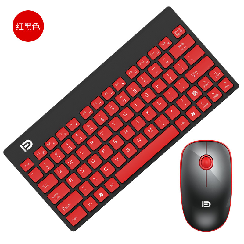 Image 5 - 2.4G Wireless Keyboard and Mouse Mini Multimedia Keyboard Mouse Combo Set For Notebook Laptop Mac Desktop PC TV Office Supplies-in Keyboards from Computer & Office