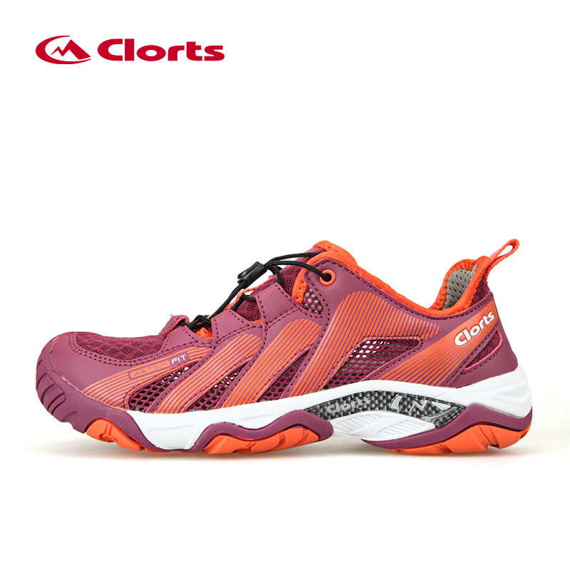7a3a068c3245 Clorts Summer Women Aqua Shoes Breathable Beach Sandals Light Outdoor  Sneaker Quick Dry Professional Water Shoes
