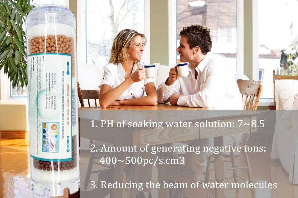 """DIY 10 """"минеральная фильтра минеральная слабой щелочной воды для RO аквариум и очиститель воды Системы"""