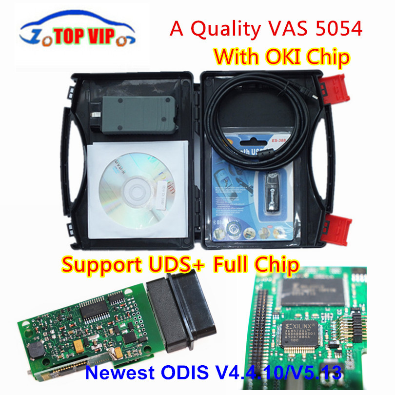 A++ Quality VAS 5054A Full Chip VAS5054A More Stable Bluetooth With OKI Support UDS OBD2 Scanner Car Diagnotic-ToolA++ Quality VAS 5054A Full Chip VAS5054A More Stable Bluetooth With OKI Support UDS OBD2 Scanner Car Diagnotic-Tool