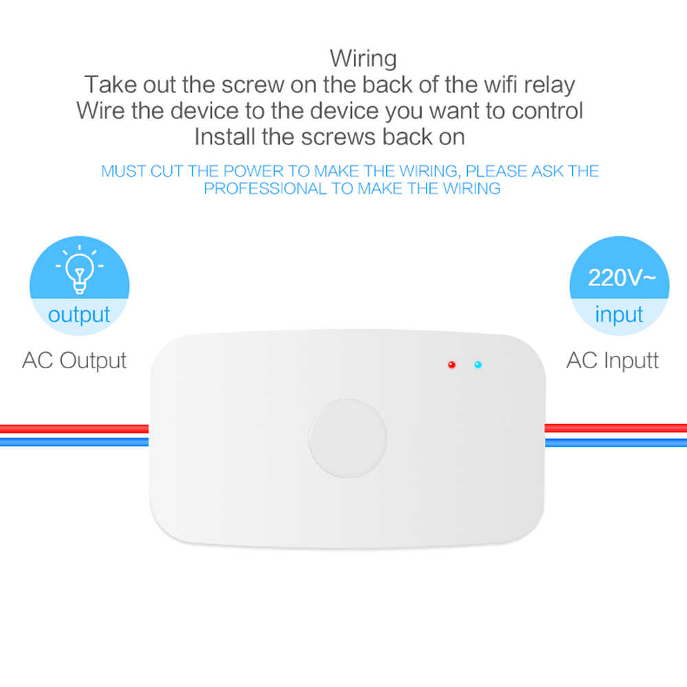 hight resolution of  geeklink smart home wifi switch interrupter domotica diy timer remote control work for alexa google home