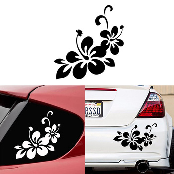 Diy flowers Stickers Ussr Car Door Handle Decals Styling And Body Accessories
