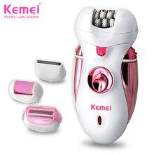 Kemei2530 Новый 4 в 1 Женщины Бритья Шерсть Устройство Нож Электробритвы Шерсть Эпилятор Для Бритья леди Бритвы Женский Уход(China (Mainland))