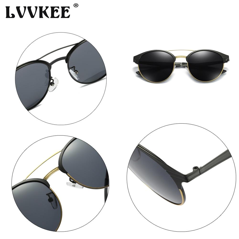 LVVKEE 2018 NY Luksus HD Polariserte klassiske solbriller Kvinner / - Klær tilbehør - Bilde 5