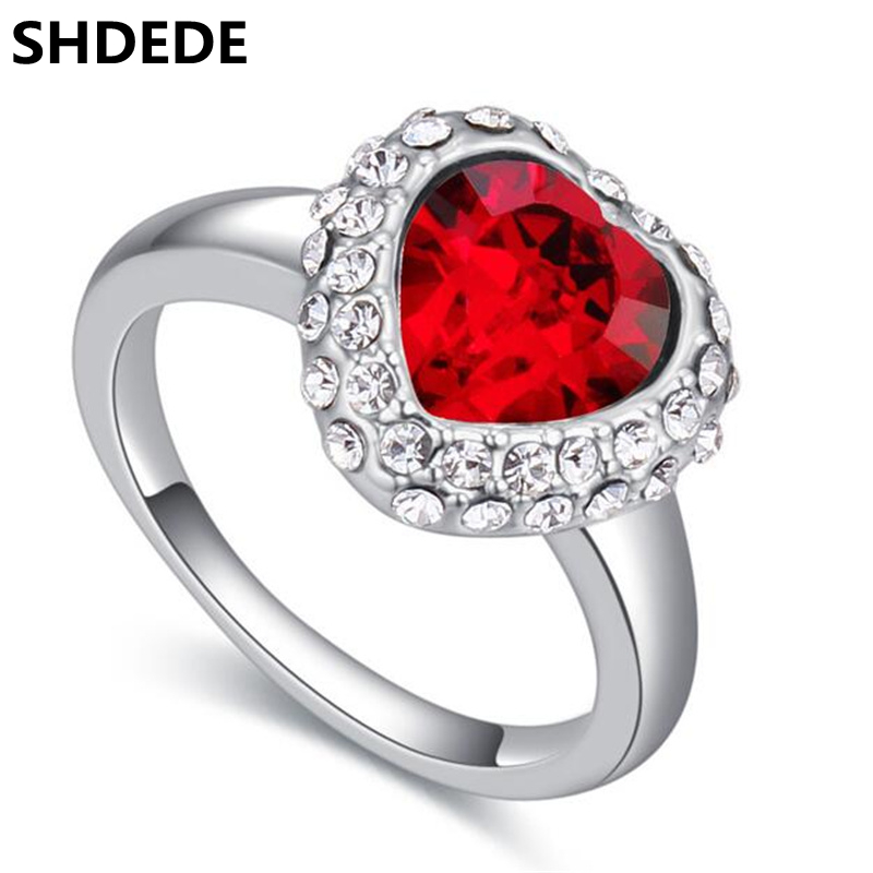 shdede high quality wedding engagement rings