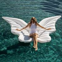 Women Inflatable Butterfly Wings Inflatable Float For Adult Pool Party Toys Ride On Air Mattress Swimming Ring 250*180 cm