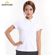 Sport Polo shirt Women Quick Dry Gym Tshirt Sports Fitness Shirt Short Sleeve Hiking Running Fishing Golf Sportswear C041