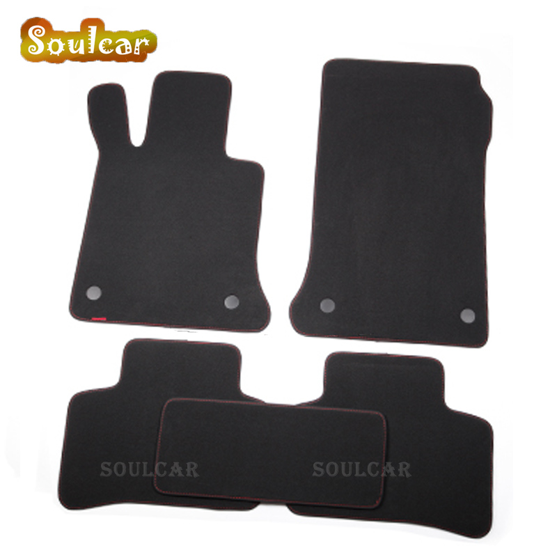 Premium Fabric Nylon Suede Washable Car floor mats for Mercedes Benz GLA GLK X204 GL X164 G63 2006-2017 car-styling carpet auto fuel filter 163 477 0201 163 477 0701 for mercedes benz