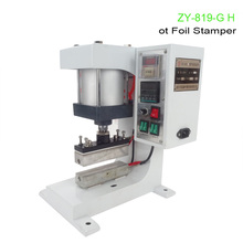220V 1 SET Pneumatic bronzing machine, barge under bit machine heating, lace processing, Automatic gilding principle