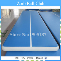 Free Shipping 5x1x0.1m Sports Equipment Inflatable Air Track Airfloor For Gym Training With a Pump