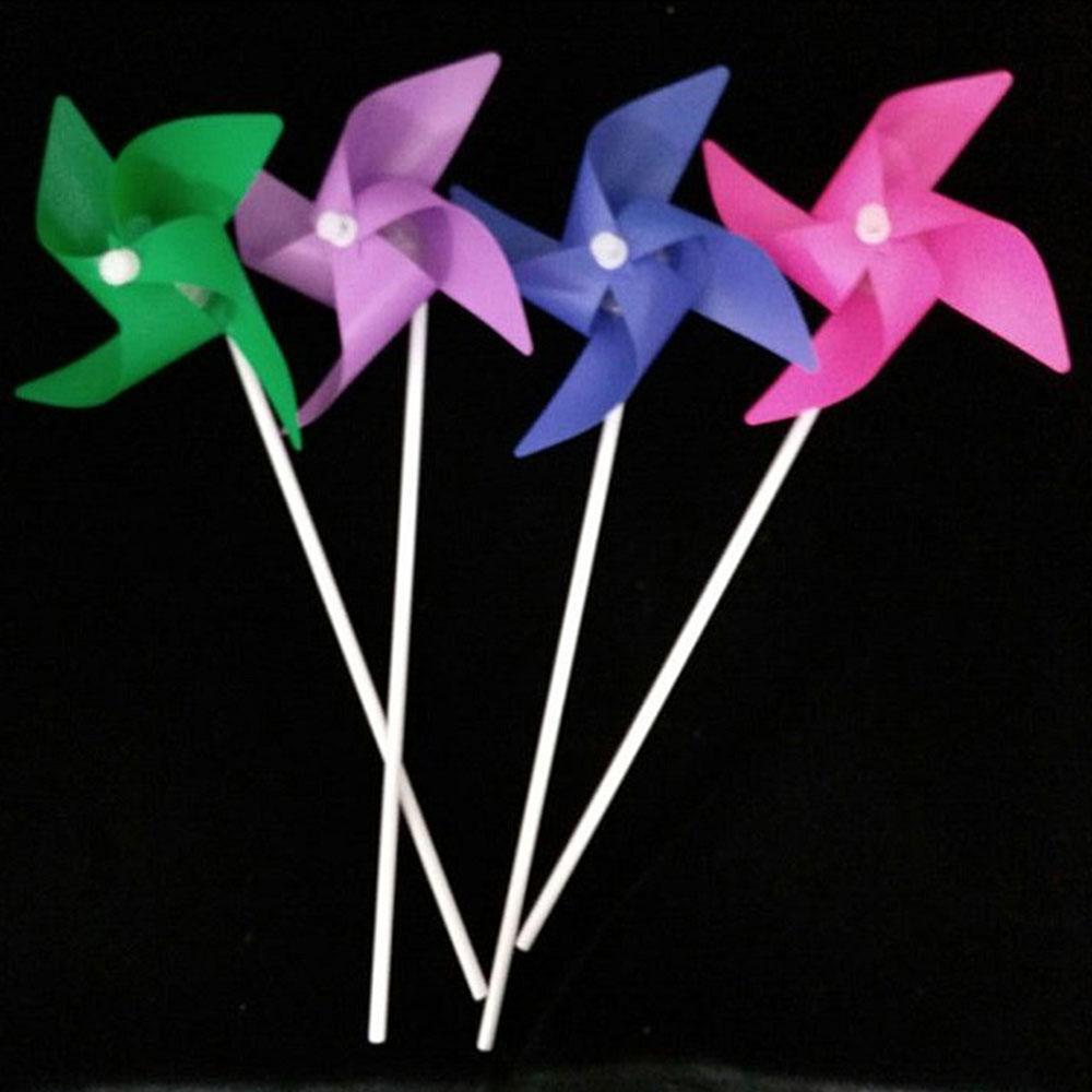 Детская ветряная мельница цветок ветряная мельница электронная ветряная мельница игрушка DIY пластик полихроматический малыш открытый сад милый Декор