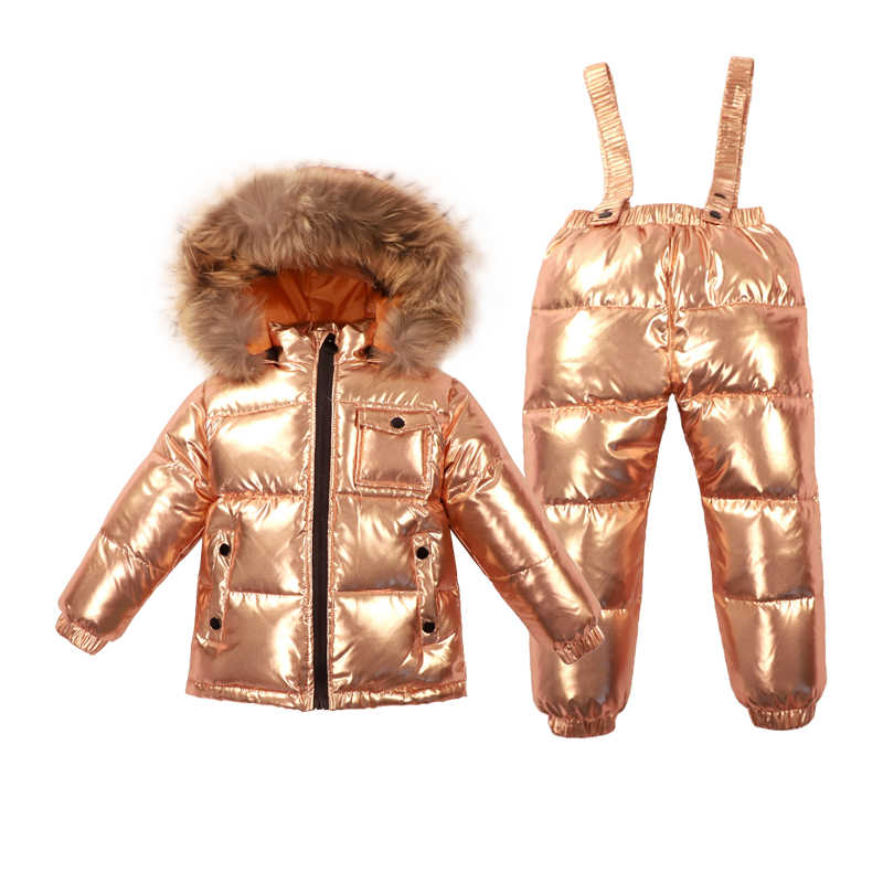 a289f1520 Detail Feedback Questions about Silver baby winter Jumpsuit Romper ...