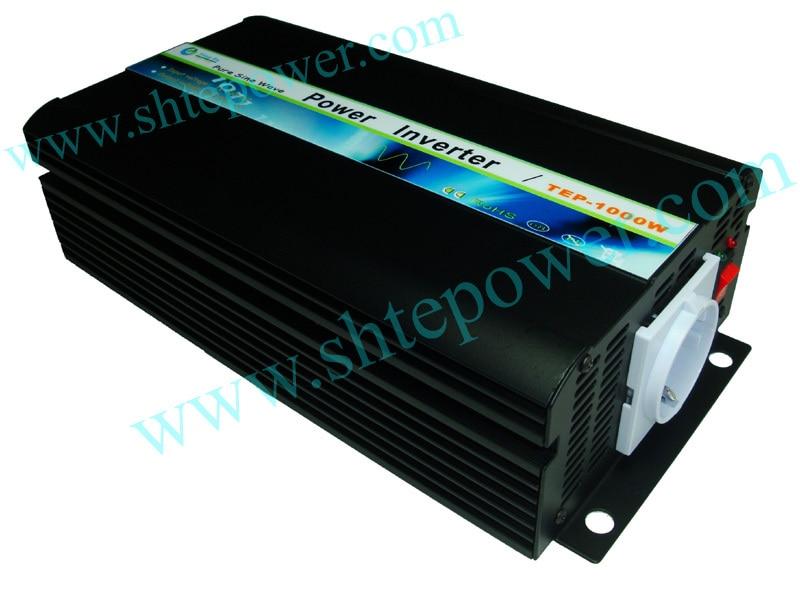 цена на Free Shipping!! 1000W DC12V-AC230V Pure Sine Wave Inverter DC to AC Power Inverter 1KW