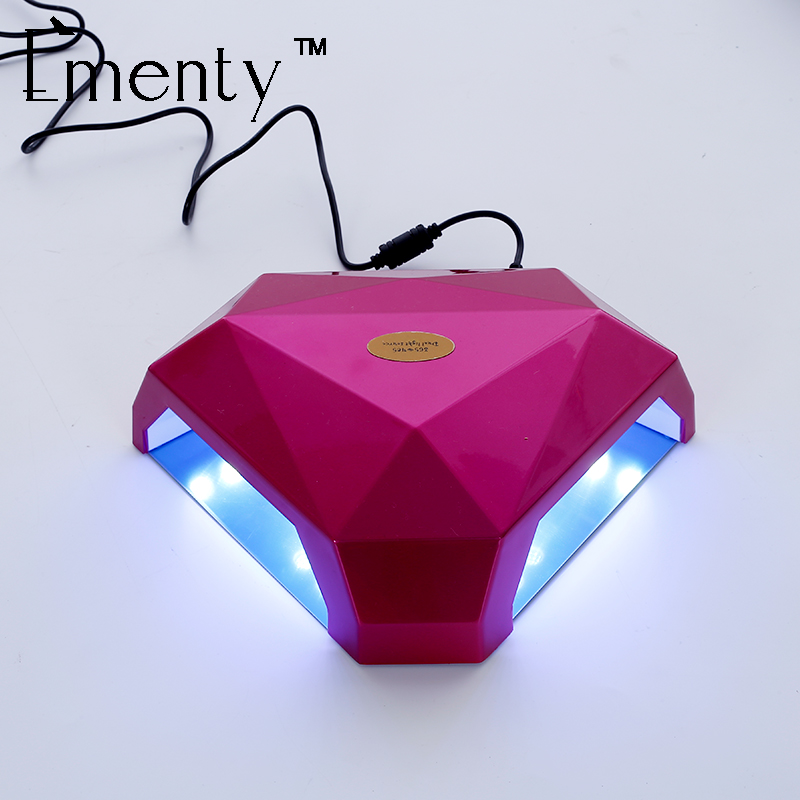 Ementy Nail Dryer 60W UV LED Nail Lamp For Nails Gel Dryer EU,UK,US,AU Diamond Shape Curing for UV Gel Polish Nail Art Tools professional 48w led uv lamp for curing nail gel polish nail lamp for nail art tools with eu au us uk plug
