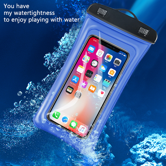 pretty nice 58dca 8f172 US $4.99 |Case For Huawei Honor 7C Waterproof Cover Floating Phone Pouch  Underwater Swimming Bumper With Arm Band Case Cover For honor7c-in Fitted  ...