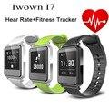 100% original iwown i7 reloj inteligente de ritmo cardíaco nuevo Smart Pulsera Pulsera Inteligente Bluetooth 4.0 rastreador De Actividad Física