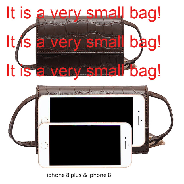 Mini Stone Pattern Crossbody Bags  4