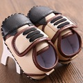 New Baby Moccasins Handmade PU Leather Shoes First Walker Boys Dress Cute Toddler Shoes Soft Infant Gift for Newborn