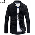 Brand New Arrival Slim Men Jacket Fashion Korean Style Mandarin Collar Zipper Young Men Jacket Chaqueta Hombre Asian Size Z2625