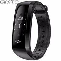 GIMTO Cool Sport Men Women Bracelet Smart Watch Heart Rate Blood Pressure Oxygen Sleep Monitoring LED