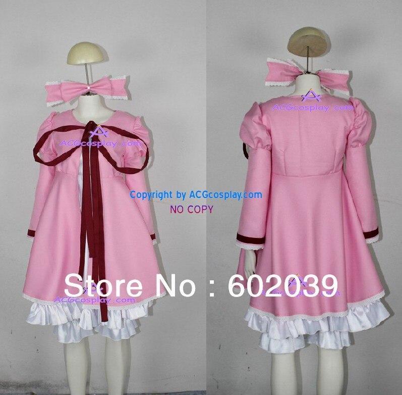 Rozen Maiden Hinaichigo Strawberry Doll Cosplay Costume GOOD quality ACGcosplay include hair ornament