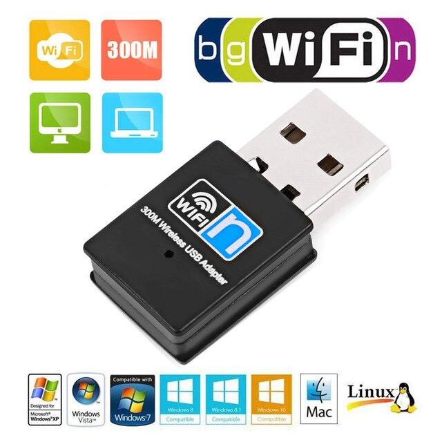 Usb 무선 네트워크 카드 300 m wifi 무선 수신기 외부 미니 무선 네트워크 카드 어댑터 wifi usb