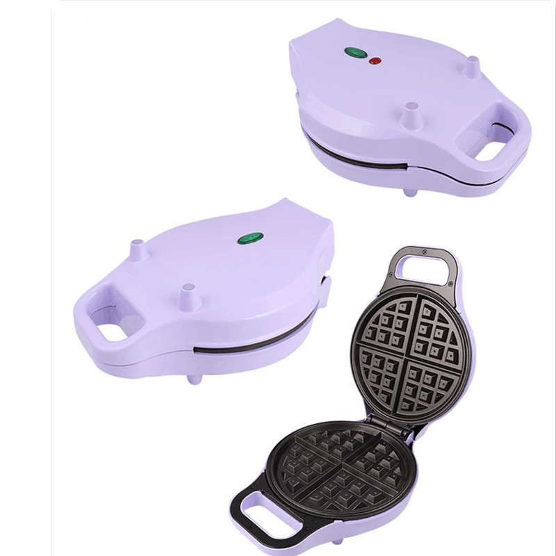 Household 220V Electric Non-stick Waffle Machine Automatic Breakfast Pancake Waffle Baking Machine Electric Waffle Maker 1 pc 220v 100w automatic shoe machine utilities electric induction luxurious hall household brush shoes