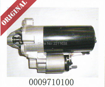 Linde forklift genuine part 0009710100 bosch starter motor volkswagen engine starter used on 350 diese truck H12 H16 H18 H20