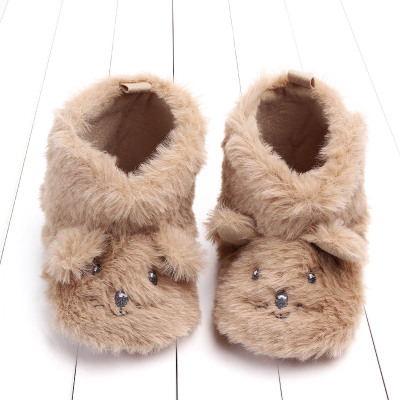 2020 Winter Super Warm Baby Shoes Cute Baby Boot Kids Newborn Toddler Warmly Cartoon Boots First Walker Moccasins