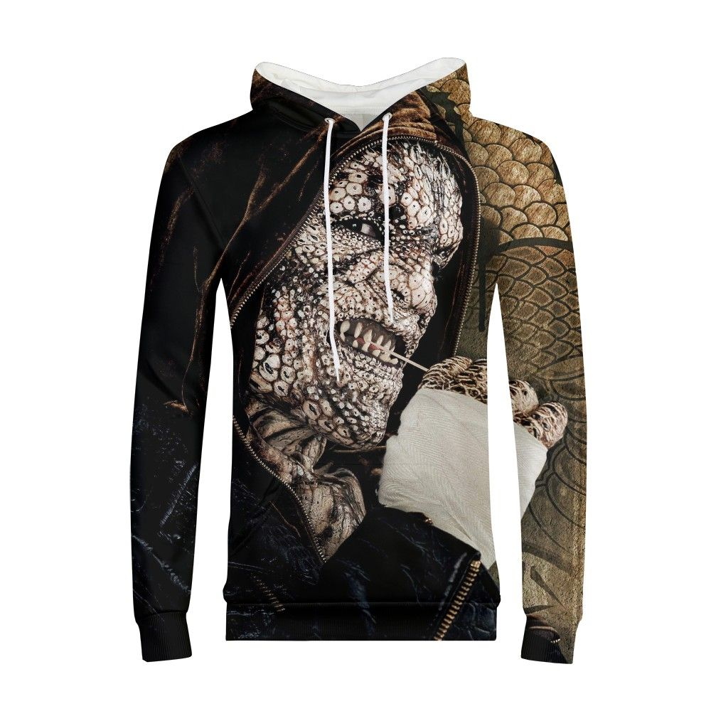 Suicide Squad Hoodie Gothic Sweatshirt Kids Modis Anime Print Long Sleeve Clothes Newest Youth Boys Girls Hoodies Streetwear