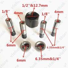 Гайка цанги Конус 6 мм 6,35 мм заменить для Makita 3701 3708FC 3708F 3707FC 3706 3707F 3705 3703 3700B 3700D 3620 3709 электрические инструменты
