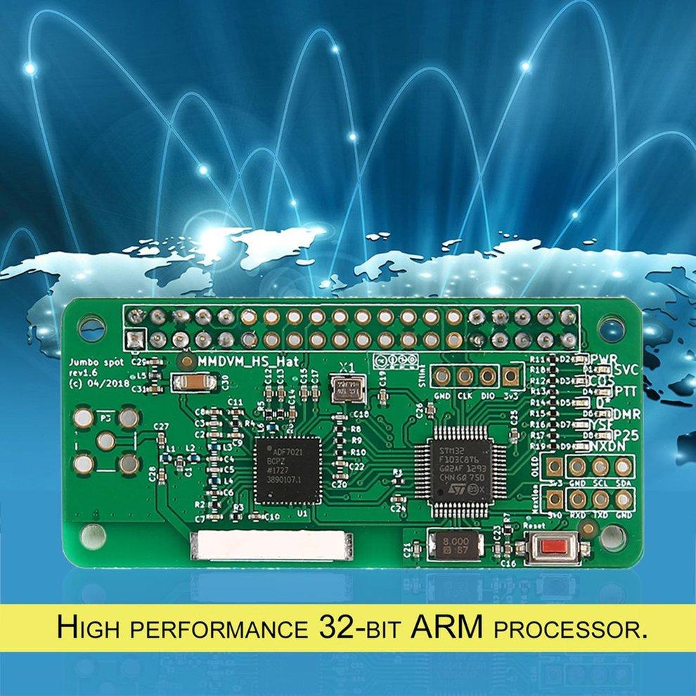 Nouvelles pièces de récepteur de Signal professionnel sans écran et boîtier MMDVM Hotspot Support P25 DMR YSF pour Raspberry Pi + antenne