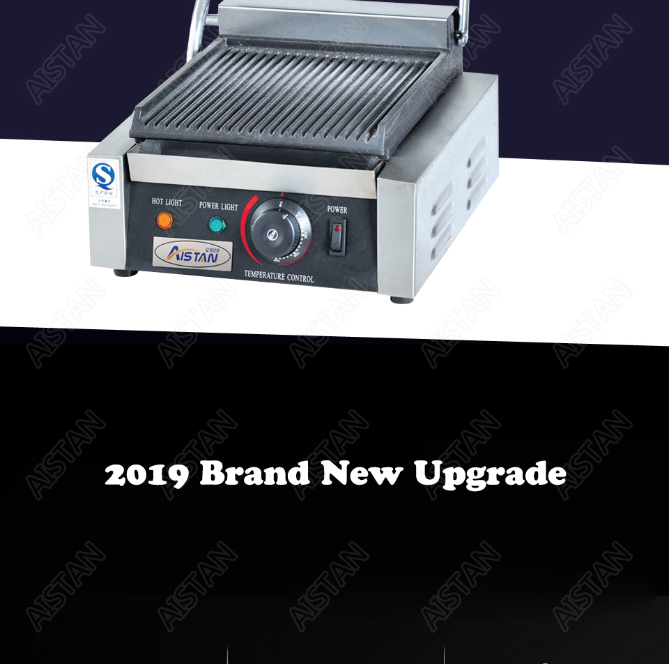 EG811/EG813/EG815 Single/Double Plate Commercial Electric Table Top Panini Grill Machine of Catering Equipment 2